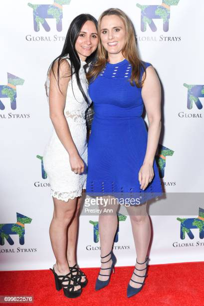 Elizabeth Shafiroff and Lindsey Spielfogal attend Elizabeth Shafiroff and Lindsey Spielfogal Host the First Annual Global Strays Fund Raising Party...