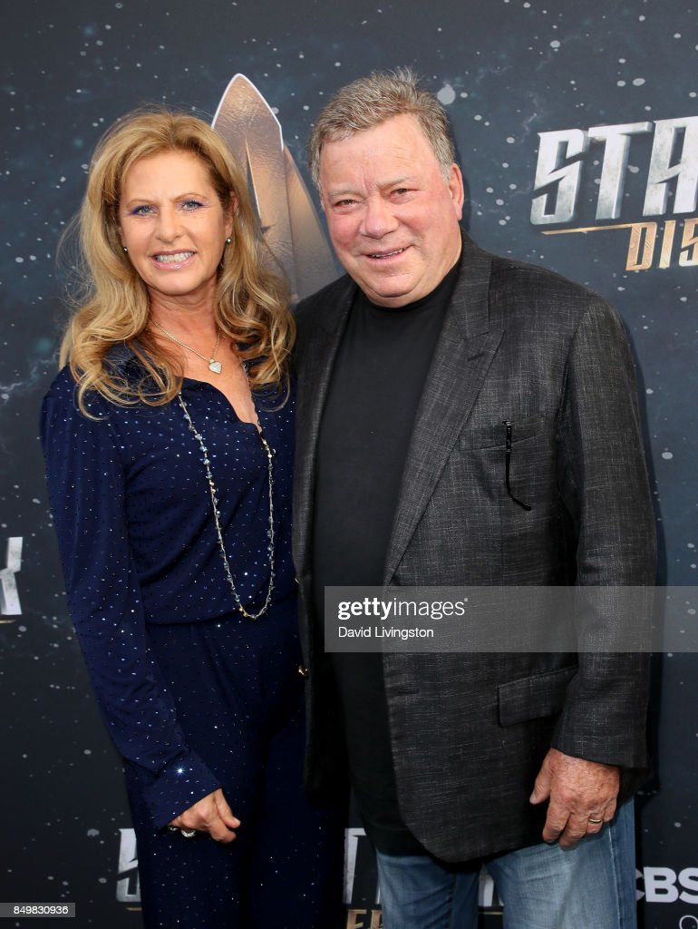 Elizabeth Shatner (L) and actor William Shatner attend the premiere of CBS's 'Star Trek: Discovery' at The Cinerama Dome on September 19, 2017 in Los Angeles, California.