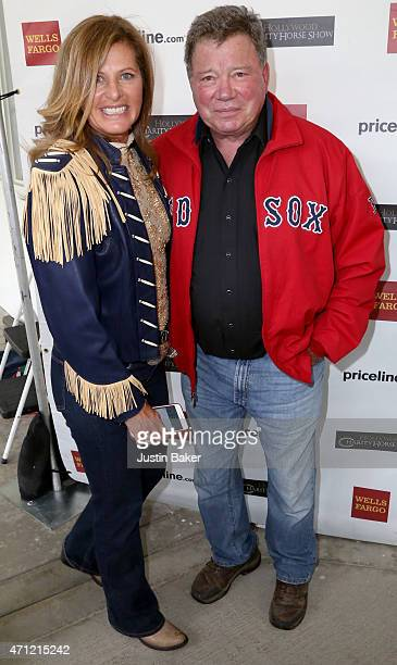 Elizabeth Shatner and Willam Shatner attend the 25th Anniversary Pricelinecom Hollywood Charity Horse Show at the Los Angeles Equestrian Center on...