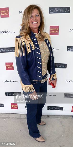 Elizabeth Shatner attends the 25th Anniversary Pricelinecom Hollywood Charity Horse Show at the Los Angeles Equestrian Center on April 25 2015 in Los...