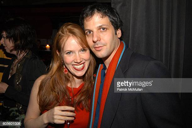 Elizabeth Simon and attend Valentine's Day Cocktail Party hosted by Abby Weisman and Robin Navrozov at Serena's on February 14 2006 in New York City