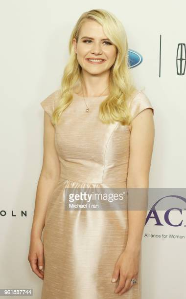 Elizabeth Smart arrives to the 43rd Annual Gracie Awards held at the Beverly Wilshire Four Seasons Hotel on May 22 2018 in Beverly Hills California