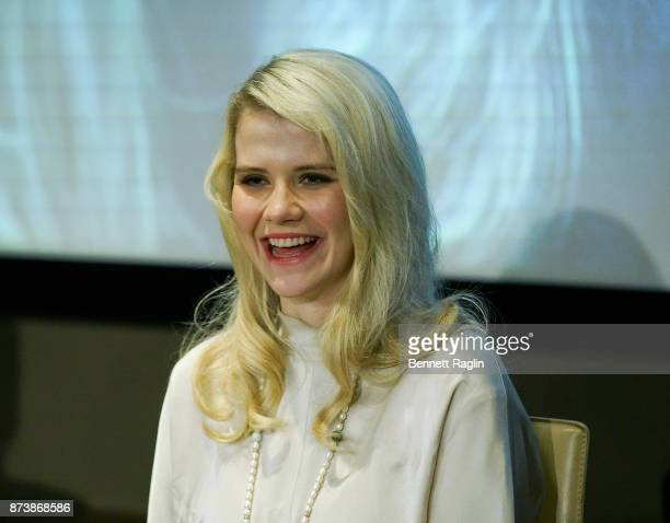 Elizabeth Smart attends the Lifetime and NeueHouse Women's Forum screening of I Am Elizabeth Smart at NeueHouse Madison Square on November 13 2017 in...