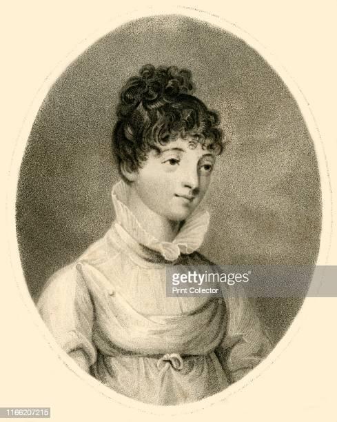 Elizabeth Smith' 1809 Portrait of Elizabeth Smith English translator linguist and Biblical scholar Artist Robert Mitchell Meadows