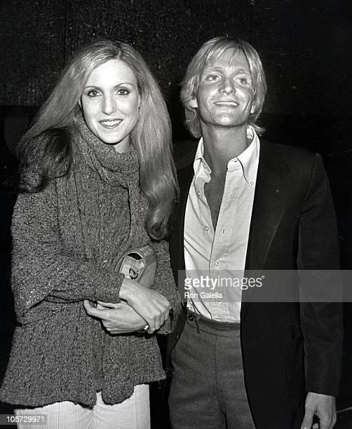 Elizabeth Stack and Eric Douglas during Time Bandits New York City Premiere at Loews Twin Theatre in New York City New York United States