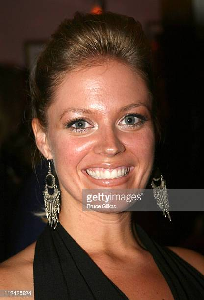 Elizabeth Stanley during Martin Short Fame Becomes Me Broadway Opening Night Arrivals at Bernard B Jacobs Theatre in New York New York United States