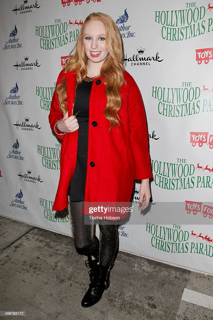 Elizabeth Stanton attends the 83rd annual Hollywood Christmas parade on November 30, 2014 in Hollywood, California.