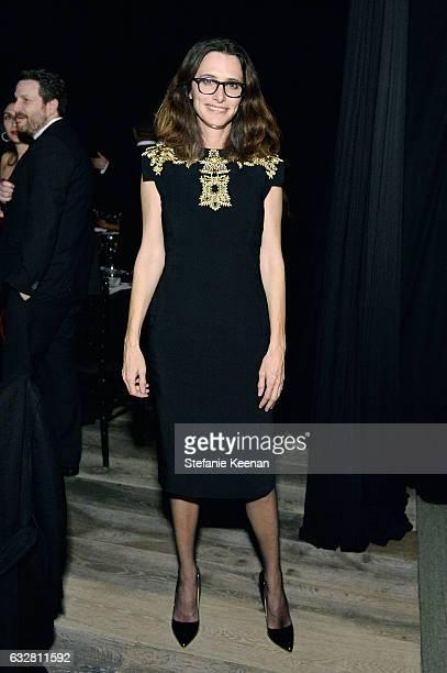 Elizabeth Stewart attends PSLA partners with Carolina Herrera for Winter Gala on January 26 2017 in Beverly Hills California
