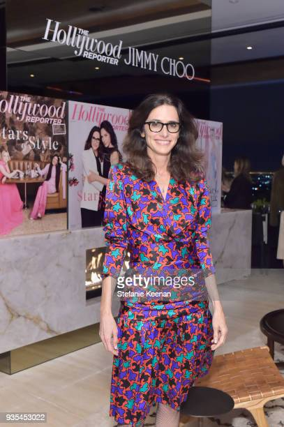 Elizabeth Stewart attends The Hollywood Reporter and Jimmy Choo Power Stylists Dinner on March 20 2018 in Los Angeles California