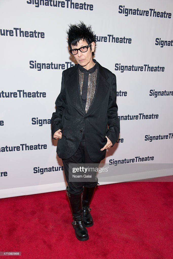 Elizabeth Streb attends the 2015 Signature Theatre Gala at The Signature Center on April 27, 2015 in New York City.