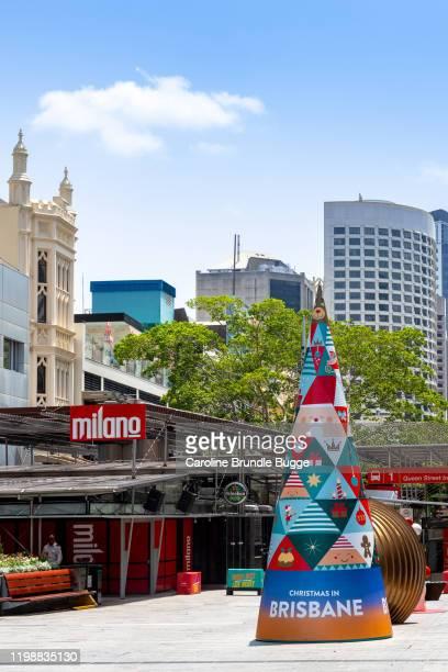 elizabeth street, brisbane, australia - brisbane stock pictures, royalty-free photos & images