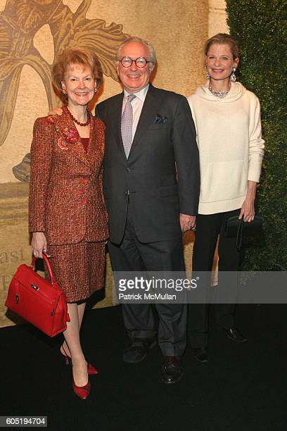 Elizabeth Stribling Guy Robinson and Robin Bell attend The 52nd Annual Winter Antiques Show Opening Night Party at The Seventh Regiment Armory on...