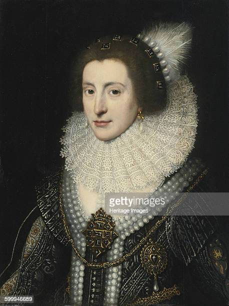 Elizabeth Stuart Queen of Bohemia ca 1642 Private Collection Artist Mierevelt Michiel Jansz van