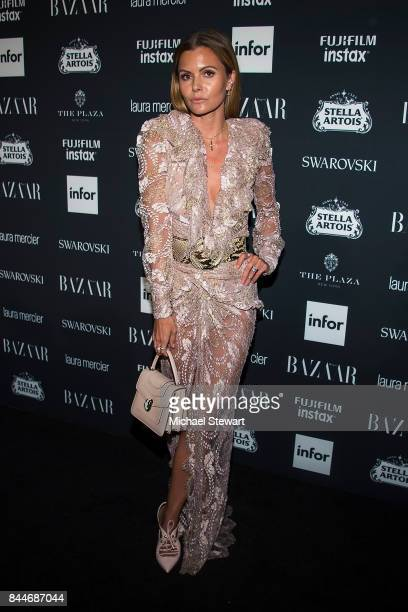 Elizabeth Sulcer attends 2017 Harper's Bazaar Icons at The Plaza Hotel on September 8 2017 in New York City