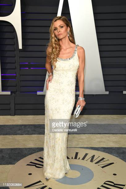 Elizabeth Sulcer attends 2019 Vanity Fair Oscar Party Hosted By Radhika Jones at Wallis Annenberg Center for the Performing Arts on February 24 2019...