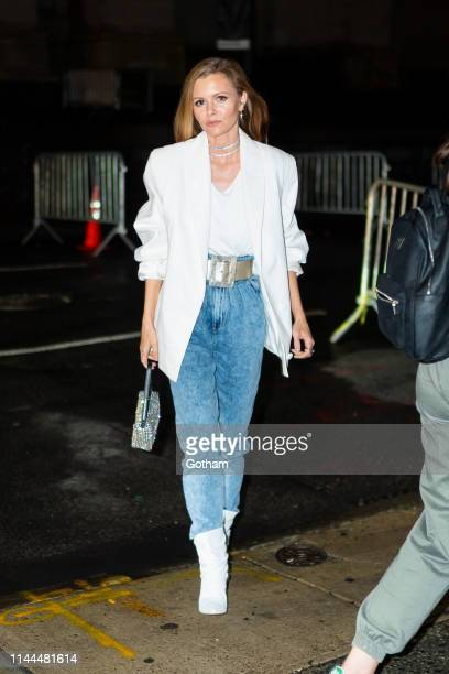 Elizabeth Sulcer attends Gigi Hadid's 24th Birthday at L'Avenue in Midtown on April 22 2019 in New York City