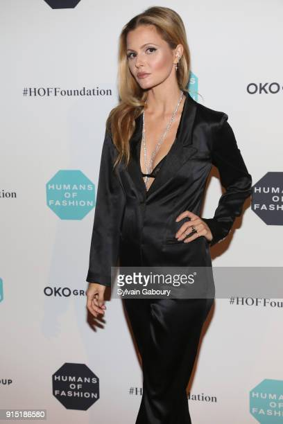 Elizabeth Sulcer attends Humans of Fashion Foundation joins the conversation to end sexual harassment and assault in the industry at Cipriani 25...