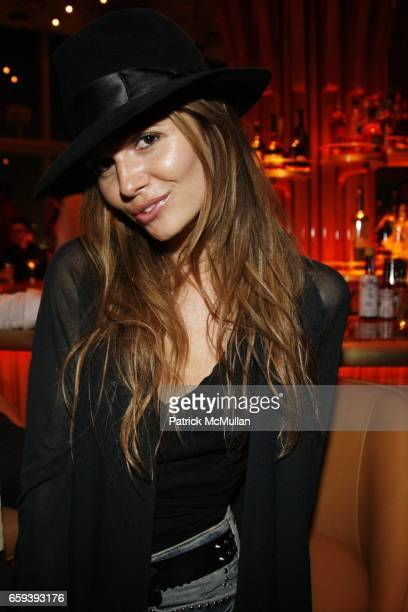 Elizabeth Sulcer attends PURPLE Magazine Fashion Week Party at The Boom Boom Room at The Standard on September 13 2009 in New York City