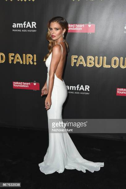 Elizabeth Sulcer attends the 2017 amfAR The Naked Heart Foundation Fabulous Fund Fair at Skylight Clarkson Sq on October 28 2017 in New York City
