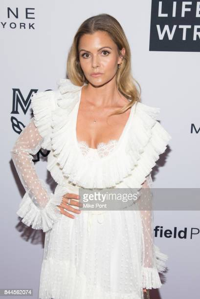 Elizabeth Sulcer attends the Daily Front Row's Fashion Media Awards at Four Seasons Hotel New York Downtown on September 8 2017 in New York City