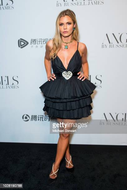 Elizabeth Sulcer attends the Russell James 'Angels' book launch & exhibit at Stephan Weiss Studio on September 6, 2018 in New York City.