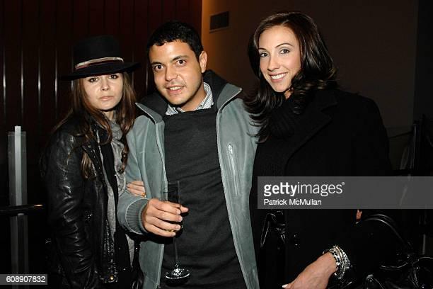 Elizabeth Sulcer Chris Campbell and Katrina Campins attend LONGCHAMP Celebrates Michel Gaubert Collaboration at La Maison Unique Longchamp at...