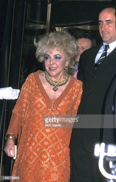 Elizabeth Taylor and Christopher Wilding during InStyle Magazine Gala to Celebrate the Release of 'Elizabeth Taylor My Love Affair with Jewelry' at...