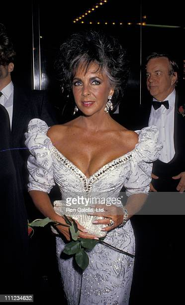 Elizabeth Taylor and Franco Zefferrelli during 12th Annual Beauty Ball Benefiting March Of Dimes at The Waldorf in New York City New York United...