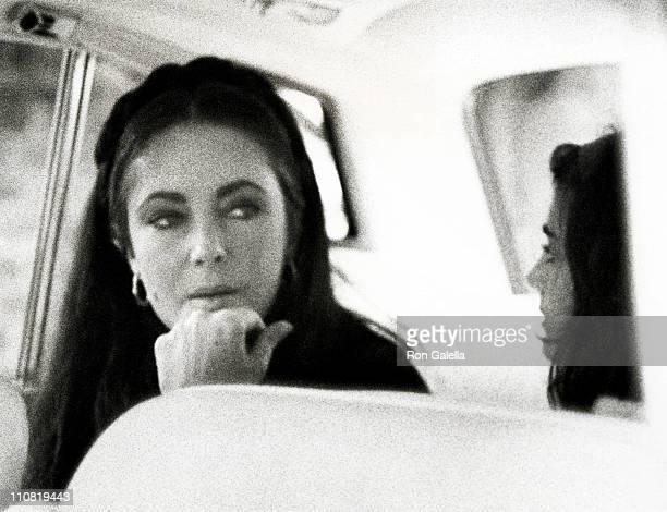 Elizabeth Taylor and Liza Todd
