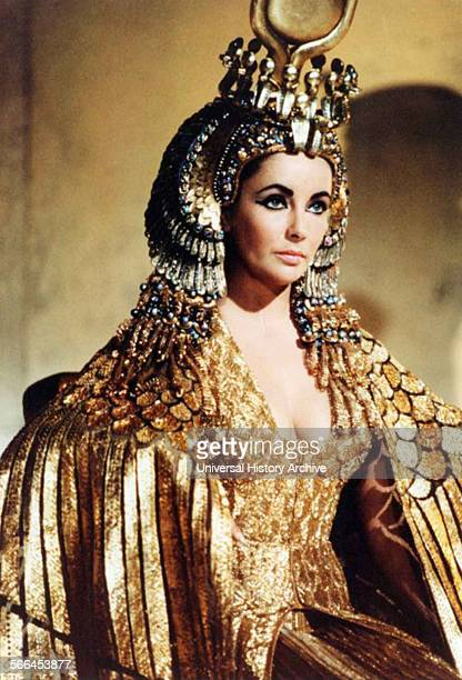 Elizabeth Taylor as Cleopatra in the 1963 epic drama film directed by Joseph L Mankiewicz