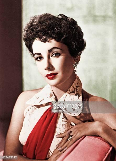 Elizabeth Taylor. Ca. 1950s.