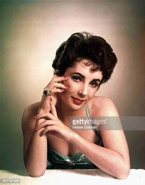 Elizabeth Taylor Circa 1953.