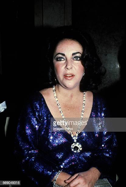 Elizabeth Taylor circa 1980 in New York City