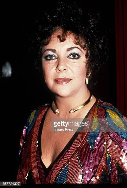 Elizabeth Taylor circa 1983 in New York City