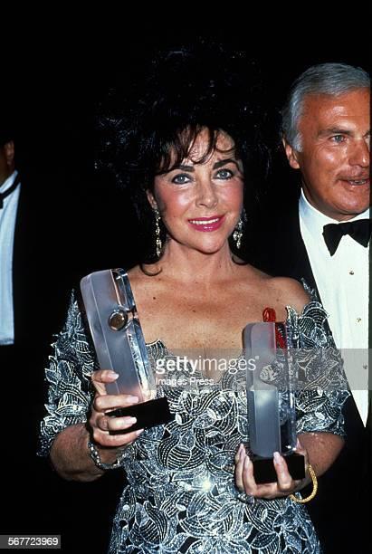 Elizabeth Taylor circa 1992 in New York City