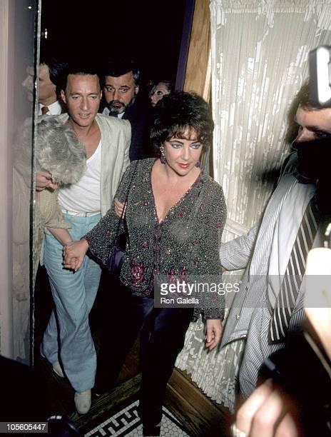 Elizabeth Taylor during Elizabeth Taylor and Maureen Stapleton Sighting New York City July 1 1981 in New York City New York United States