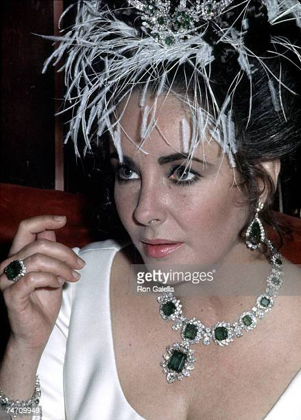 Elizabeth Taylor in Paris France