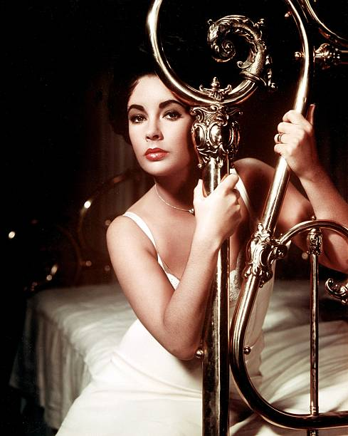Elizabeth Taylor in the Film 'Cat On A Hot Tin Roof' by Richard Brook