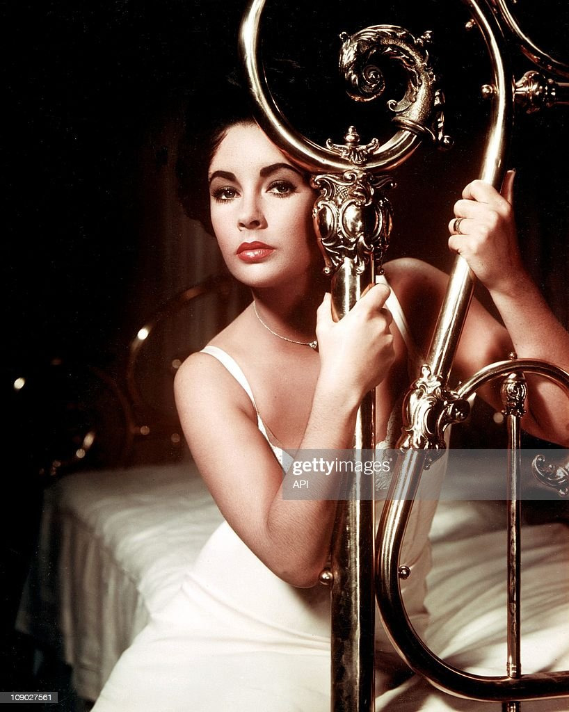 Elizabeth Taylor In The Film U0027Cat On A Hot Tin Roofu0027 By Richard Brook