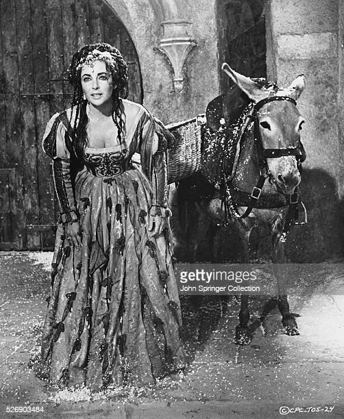 Elizabeth Taylor in The Taming of the Shrew