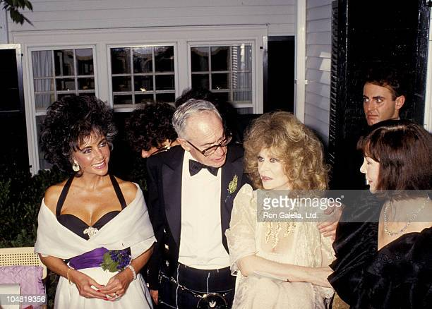 Elizabeth Taylor, Malcolm Forbes, and Aileen Mehla