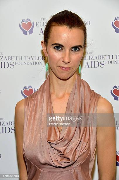 Elizabeth Taylor's granddaughter Naomi Wilding attends The Elizabeth Taylor AIDS Foundation Art Auction Benefit Presented By Wilding Cran Gallery on...