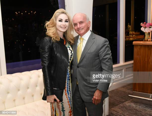 Elizabeth Tenhouten and Dennis Tito attend Big Hearts of Summer benefiting Westside Children's Center on May 2 2018 in Los Angeles California