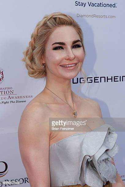 Elizabeth Tenhouten at The Brent Shapiro Foundation's Summer Spectacular on September 12 2015 in Beverly Hills California
