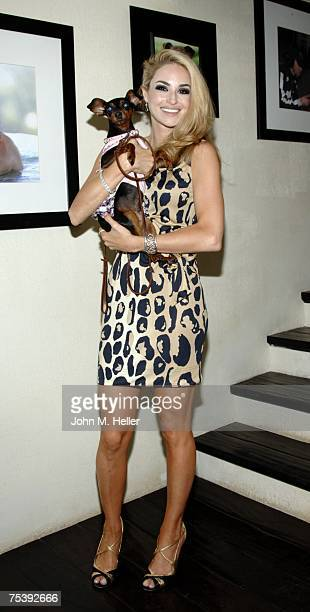 Elizabeth Tenhouten attends In Defense of AnimalsAfrica Presents Born To Be Wild at the Bernheim Estate on July 12 2007 in Beverly Hills California