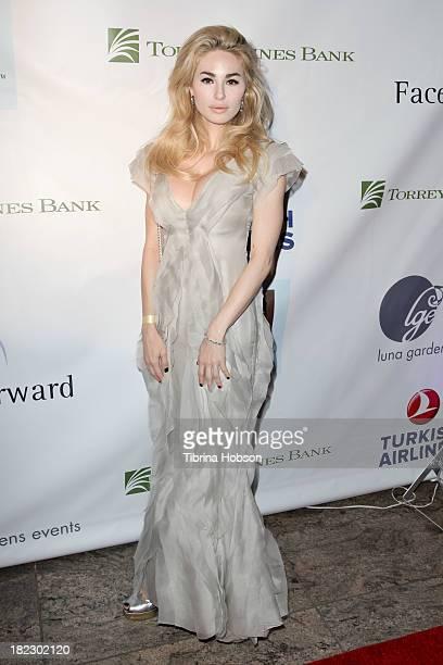 Elizabeth TenHouten attends the 4th annual Face Forward LA Gala at Fairmont Miramar Hotel on September 28 2013 in Santa Monica California