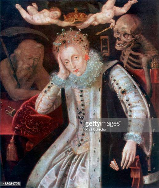 'Elizabeth The Weary Sovereign' c1610 The last Tudor monarch Elizabeth I 15331603 ruled from 1558 A print from the Sketch 17th March 1937