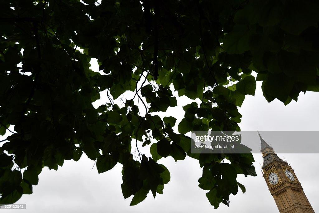 BRITAIN-HERITAGE-PARLIAMENT-BIG BEN : News Photo