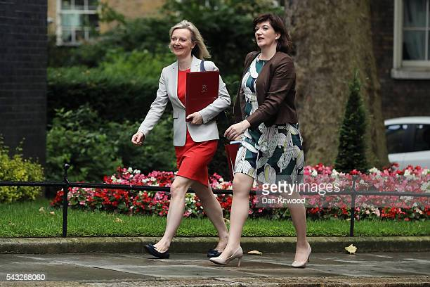 Elizabeth Truss Secretary of State for Environment Food and Rural Affairs and Nicky Morgan Secretary of State for Education Minister for Women and...