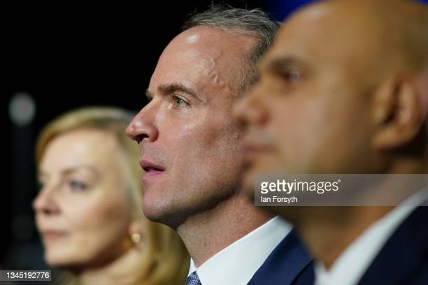Elizabeth Truss, Secretary of State for Foreign, Commonwealth and Development Affairs and Dominic Raab, First Secretary of State, Deputy Prime...